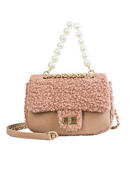 Cute Pearl Decor Chain Shoulder Bag