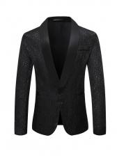 Rose JacquardWeave Prom Blazer Outerwear