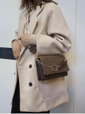 Stylish Easy Matching Fur Crossbody Shoulder Bag