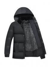 Inner Fluff Thick Mens Puffer Jacket
