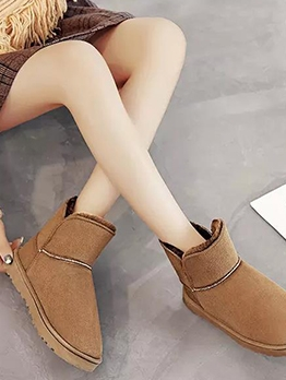 Winter Warm Solid Ugg Boots