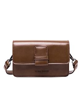 Versatile Adjustable Belt Solid Ladies Shoulder Bags