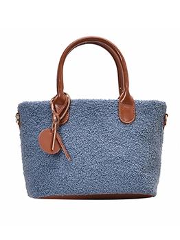 Versatile Plush Large Capacity Crossbody Handbags
