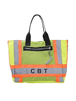 Stitching Color Reflective Large Over The Shoulder Bags