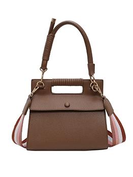 Detachable Stripes Belt Shoulder Bags For Women