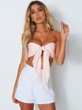 Summer Strapless Tie-Wrap Camisole For Women
