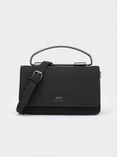 Adjustable Belt Metal Handle Rectangle Shoulder Bags