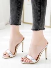 Hologram Transparent Strap Best Slippers For Women