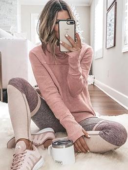 Solid Long Sleeve Turtleneck Sweater