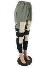 Multiple Pockets Drawstring Fashionable Cargo Pants