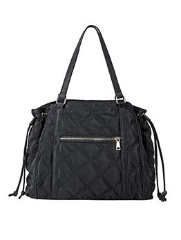 Drawstring Design Camouflage Oversized Shoulder Bags