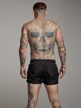 Sporty Quick-Dry Drawstring Short Pants For Men