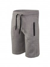 Casual Zip Up Drawstring Half Length Short Trousers