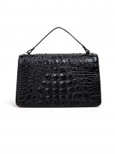 Vintage Embossing Design Shoulder Bags With Belt