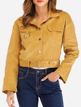 Corduroy Short Jackets For Women