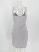 Night Club Sequin Patchwork Slip Sexy Dress