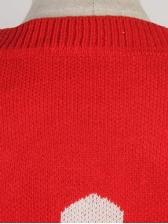 Love Printed Crew Neck Sweater