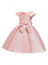 Cute Cap Sleeve Flower Girl Dresses