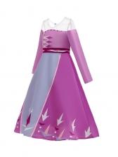 Crew Neck Cosplay Flower Girl Dresses