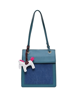 Cartoon Pendant Square Over The Shoulder Bags