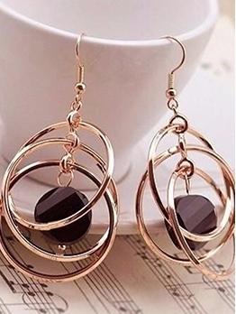 Chic Geometric Drop Earrings For Women