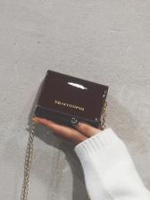 Patent Leather Golden Chain Mini Crossbody Bags