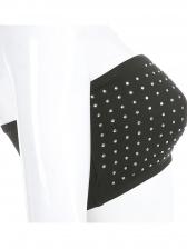 Sexy Rhinestone Cropped Strapless Camisole