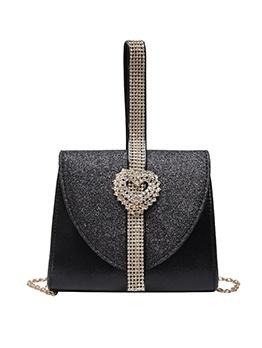 Glitter Diamonds Chain Crossbody Shoulder Bags