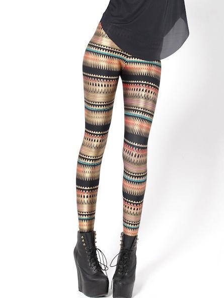 Hot Sale High Waist Printed Leggings