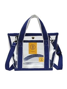 Detachable Belt Transparent PVC Large Shoulder Bags