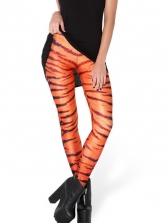 Animal Print Tight Leggings For Women
