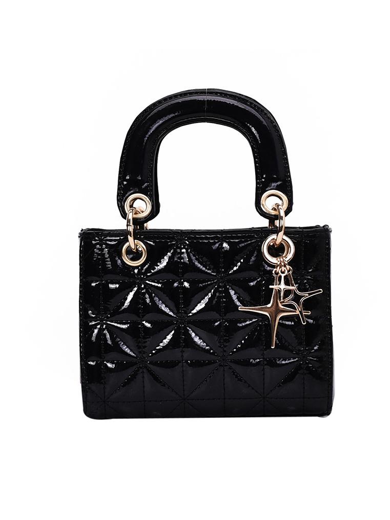 Solid Star Pendant Rhombus Handbags