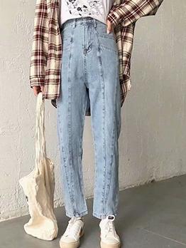 Fashion High Waist Ladies Jeans