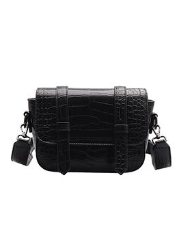 Solid Stone Grain Vintage Shoulder Bags