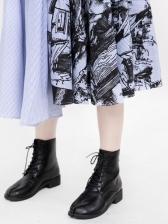 Paperbag Waist Patchwork Printed Midi Skirt