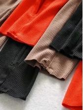 Mock Neck High Split Long Sleeve Maxi Dress