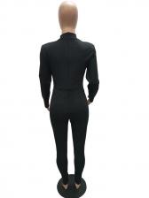 Sexy Sheer Mesh Skinny Black Jumpsuit For Women
