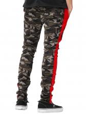 Contrast Color Camouflage Jogger Pants For Men