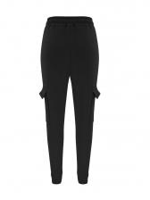Casual Skinny Pockets High Waisted Pants