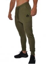 Sport Style Mid Waist Drawstring Jogger Pants
