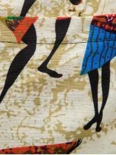 Chinese Style Straight Leg Mens Pants