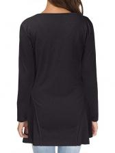 Slim Fit Solid v Neck t Shirts