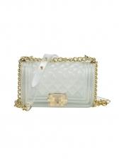 Fashion Solid Rhombus Mini Size Shoulder Bag