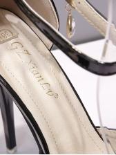 Peep Toe Bow Decor Solid Womens Platform Sandals