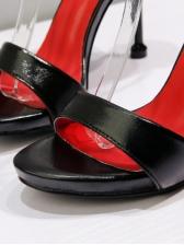 Simple Design Ankle Strap Sandals