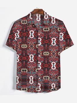 Beach Printed Men Casual Shirts For Men