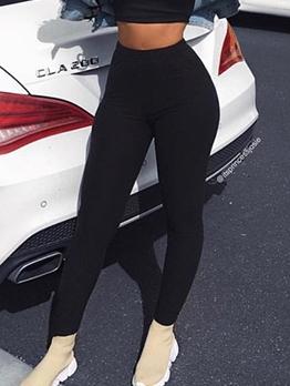 Skinny Solid Work Out Leggings