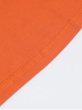 Turtleneck Solid Long Sleeve Cotton Maxi Dress