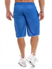 Color Block Sports Short Pants For Men