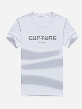 Cosy Soft Cotton Short Sleeve Plain T Shirt